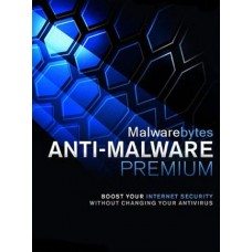 Malwarebytes Anti-Malware Premium 5 Devices 1 Year PC Key GLOBAL