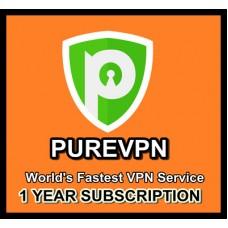 PureVPN Subscription 1 Year